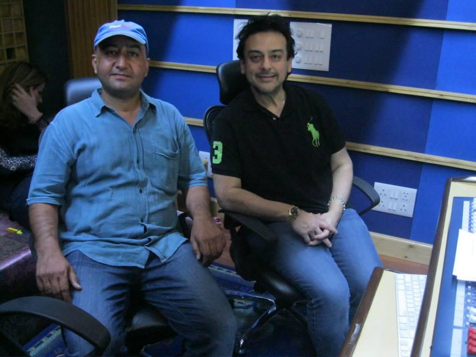 Promod Rampal with Adnan Sami