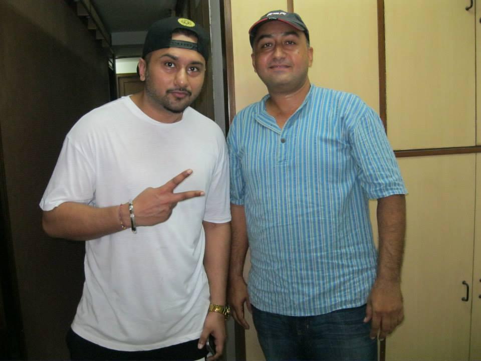 YO YO Honey Singh with Promod Rampal
